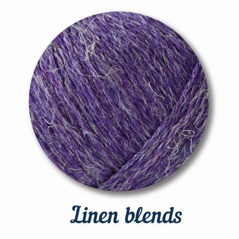 linen blends yarn
